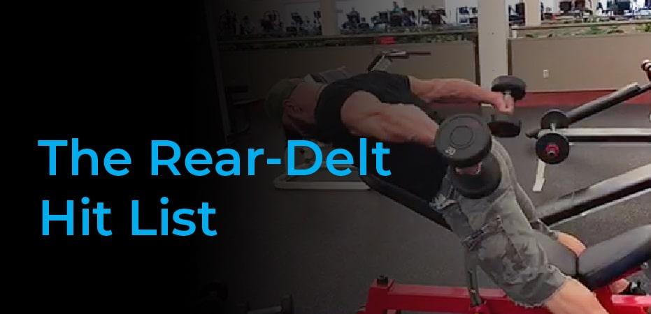 rear delt dumbbell exercises